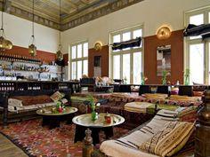 Nomadic restaurant with Algerian cuisine 'Rainarai' | #Amsterdam