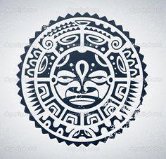 Bildergebnis für maori sonne vorlagen