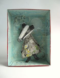 Sweet badger by Emma's Wolf