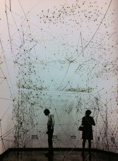 """Gego (Gertrude Goldschmidt) """"En su mundo, las líneas tienen dos funciones: crear y rasgar"""""""
