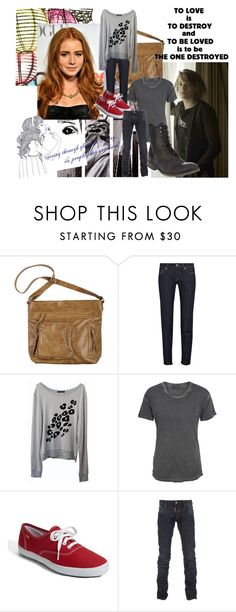 """The Mortal Instrument: City of Bones"" by thatchelseagirl91 ❤ liked on Polyvore featuring D&G, Wildfox, Religion Clothing, Keds, Dsquared2, Ksubi, skinny jeans, city of bones, lily collins and quotes"