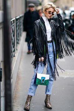 Fringe jacket outfit