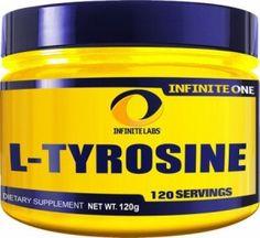 """Infinite Labs L-Tyrosine – 120 Servings"""