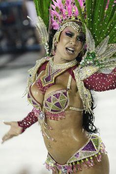 Musas do Carnaval de Rio de Janeiro    Samba School Mangueira!