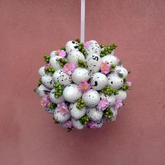 Egg Art, Easter Crafts, Happy Easter, Snowflakes, Diy And Crafts, Floral Design, Creations, Valentines, Spring