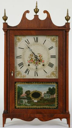 Old Clocks, Antique Clocks, Time Stood Still, Furniture Inspiration, Antiques, Projects, Watches, Future, Vintage