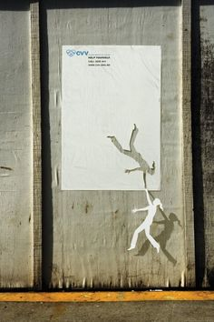Creative advertising. Love the shadow as well.