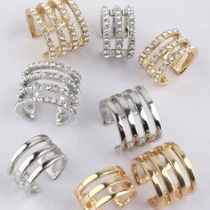 Classy Tiered Rings