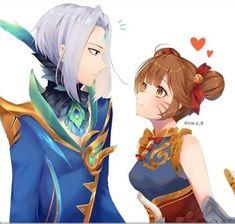 Best Friends Cartoon, Friend Cartoon, Unicorn Wallpaper Cute, Cartoon Wallpaper Iphone, Anime Chibi, Kawaii Anime, Anime Lemon, Miya Mobile Legends, Alucard Mobile Legends