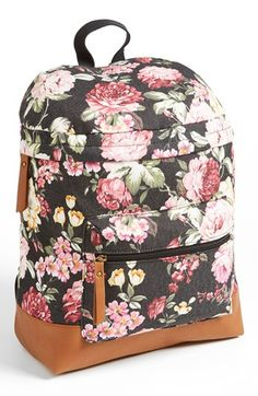 Kendall & Kylie Madden Girl Floral Backpack (Juniors) available at #Nordstrom