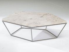 Complementi d'arredo by Natuzzi: tavolino Chocolat con piano in #marmo