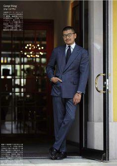 George Wang Source: The Rake Magazine - Japan Via: permanentstyle.co.uk source More menswear & suits!