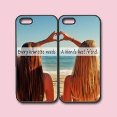 iPhone 5S caseevery brunette need a blonde best by Colorcases
