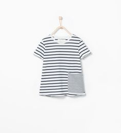 Organic cotton striped T-shirt-View all-T-shirts-Girl (3-14 years)-KIDS | ZARA United States