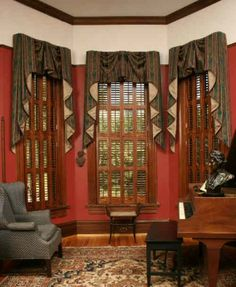 Traditional Victorian Shutters Window Treatments Windows Style Homes Decor