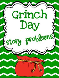 Classroom Freebies: Grinch Day Math and link to tacky the penguin packet Classroom Freebies, Math Classroom, Classroom Activities, Classroom Ideas, Holiday Classrooms, Preschool Bulletin, Future Classroom, Book Activities, Le Grinch