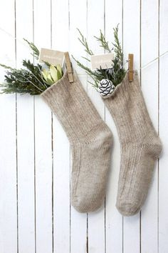 Simple Christmas Decorating ideas - via French By Design