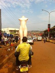 Bodaboda Baby #uganda #luggage #kampala #boda