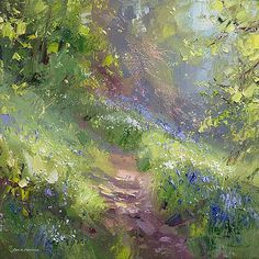 Springtime, Bramley Wood. Rex Preston