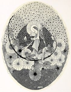 Art of Narrative: Harry Clarke: The Year's At The Spring: Illustrations & Page Decorations