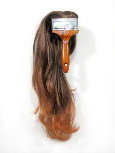 ritadesigndays:    Hairbrush #installation #art