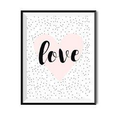 Plakat dla dzieci - Kropkowe love