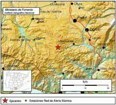 Terremoto sentido en Abuñuelas, Grananada