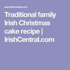 Traditional family Irish Christmas cake recipe | IrishCentral.com