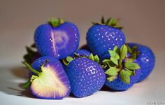 #Blue #strawberries MSO.fi