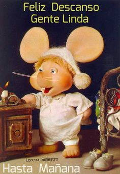 I remember watching the Topo Gigio show when I was little. So nostalgic! Good Night Messages, Good Night Quotes, Image Jesus, Old Shows, Good Morning Good Night, Retro Toys, My Memory, Cartoon Characters, Childhood Memories