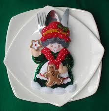 Resultado de imagen para modelos de porta cubiertos Christmas And New Year, Christmas Holidays, Christmas Decorations, Xmas, Cutlery Holder, Softies, Margarita, Sewing Crafts, Napkins