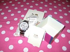 New Coach Boyfriend Silver Legacy Sport Bracelet Steel Watch in Gift Box   eBay