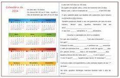 medidas de tempo calendário atividades - Pesquisa Google Periodic Table, Diagram, Activities, Periodic Table Chart, Periotic Table