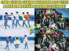 Kpop Memes, Blackpink Memes, Best Memes, Bh Entertainment, Army Love, Korean Bands, Foto Bts, Namjin, Bts Taehyung