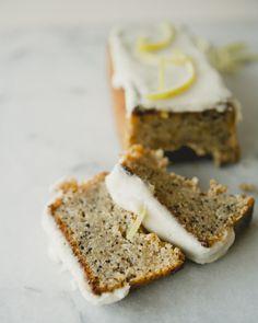 Vegan Lemon Poppyseed Teacakes \\ Sweet Laurel