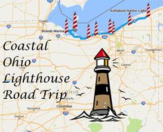 Ohio Lighthouse Road Trip Along The Shores Of Lake Erie Ohio Lighthouse Road Trip Along The Shores Of Lake Erie Vacation Places, Vacation Trips, Places To Travel, Places To Go, Vacation Ideas, Vacations, Camping Places, Weekend Trips, Day Trips