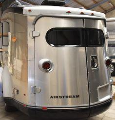 Original US Design Airstream BASECAMP .. rare modern Trailer .. empty Airstream