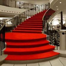 This 10 ' W x H backdrop is spliced by two pieces of cloth, it has been spliced into a complete backdrop, although it is not seamless, but it does not interfere the picture. Red Carpet Backdrop, Red Photography, Red Bedding, Hollywood Party, Theatre Design, Carpet Stairs, Hue, Backdrops, Luxury