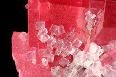 Rhodochrosite with Fluorite and Quartz from Sweet Home Mine, [Corner Pocket, Watercourse Raise], Alma, Alma District, Park Co., Colorado, United States.