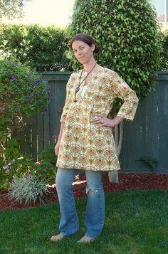 Sew Liberated - Schoolhouse Tunic by dontfeartheripper, via Flickr