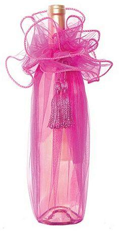 Organza-Fabric-Fuchsia-Gift-Wine-Bottle-Organza-Wrapping-STPCH-010-.jpg (367×711)