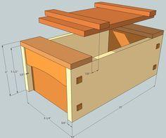 Japanese style Tool Box - by ChrisinOttawa @ LumberJocks.com ~ woodworking community