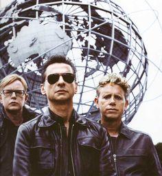 Depeche Mode during TOTU years