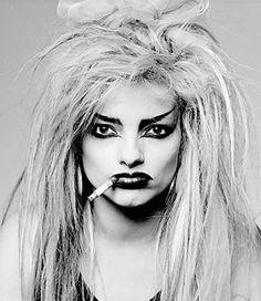 Nina Hagen b1955 East German born punk singer/actress (please follow minkshmink on pinterest)