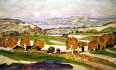 La Lac Paladru - Pierre Bonnard