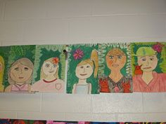 3rd Grade Frida Kahlo Self Portraits - Jamestown Elementary Art Blog