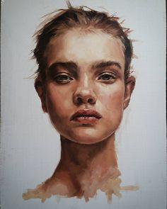 #portrait #oilpainting