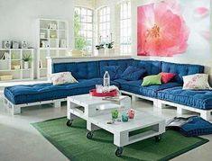 sofa de palete - Pesquisa Google