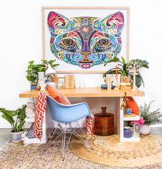 Nadia Soares Multi Desk With Shelves by Nadia Soares - Matt Blatt