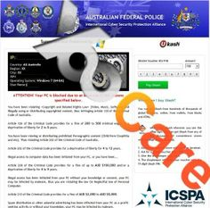 International Cyber Security Protection Alliance Virus Scam Removal